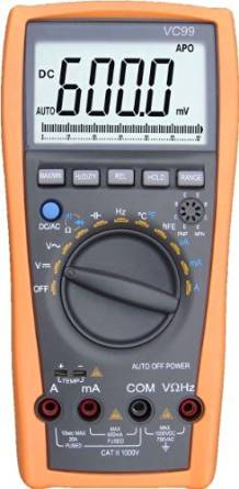 Aidetek VC99+ digital auto range multimeter Tester professionale