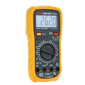 HYELEC MY65 multimetro digitale AC DC tester professionale