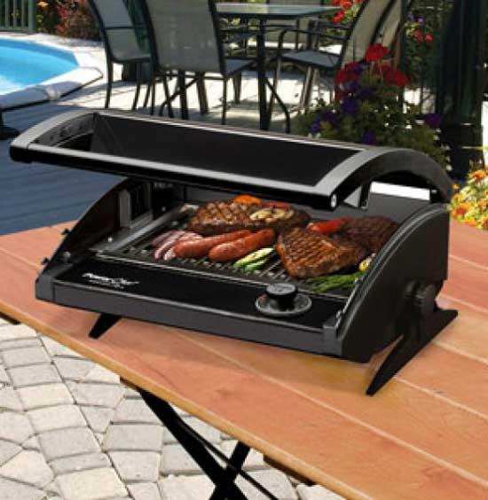 5 migliori modelli di barbecue elettrico prezzi e offerte for Piastra elettrica portatile