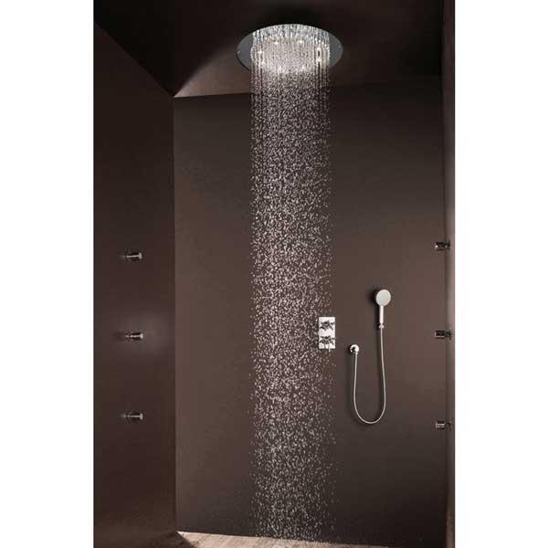 soffione per la doccia a muro