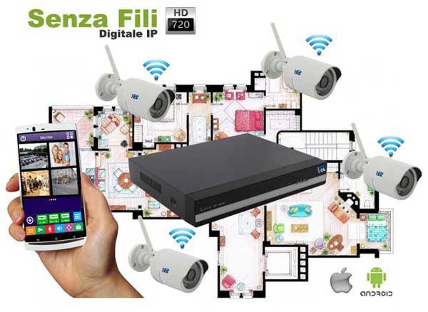 Miglior kit videosorveglianza wireless
